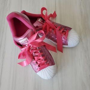 adidas Shoes - Adidas Originals women's Superstar sn Metalic Pink